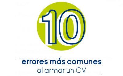 10 Errores más comunes en un CV